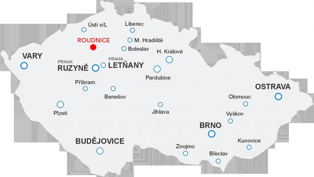Odlety Aerotaxi z letiště Roudnice nad Labem